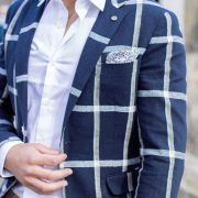 chaqueta cuadros coruña