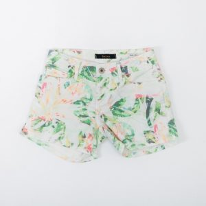 shorts estampados flores