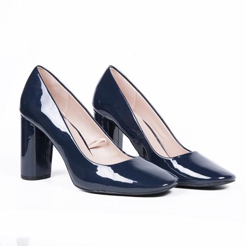 zapatos azules charol