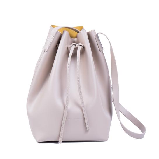 bolso saco blanco