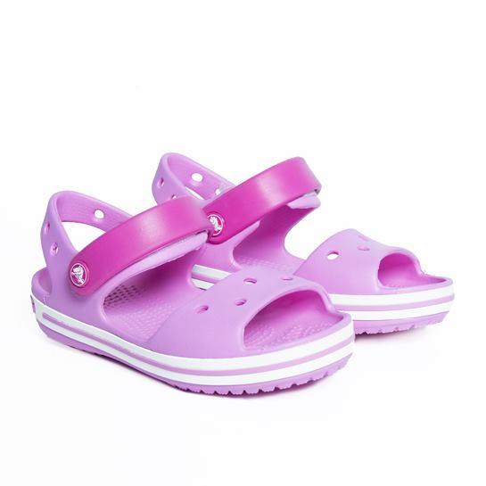 Crocs rosas niña