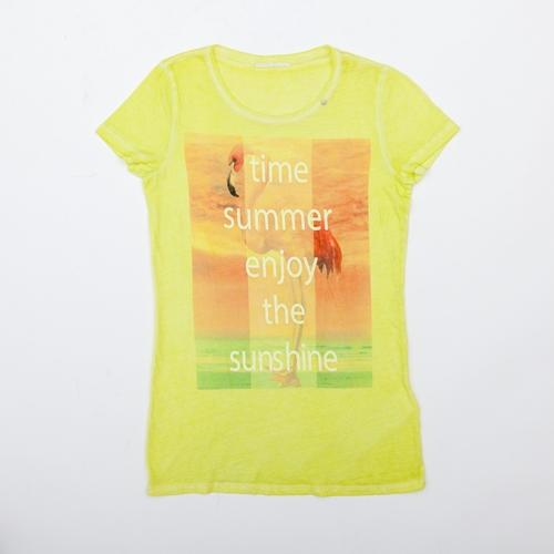 camiseta amarilla gas