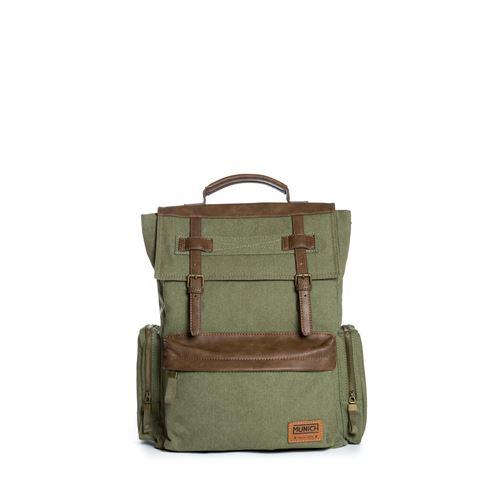 mochila verde safari munich