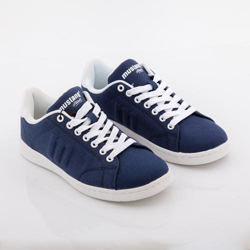 zapatillas azules mustang