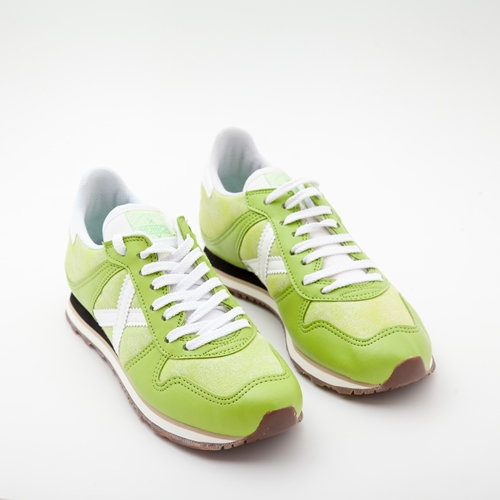 zapatillas munich verdes