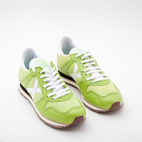 zapatillas munich verdes