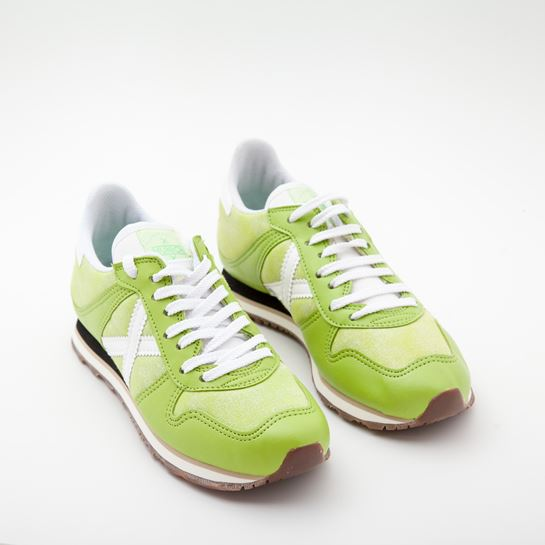 zapatillas munich verde