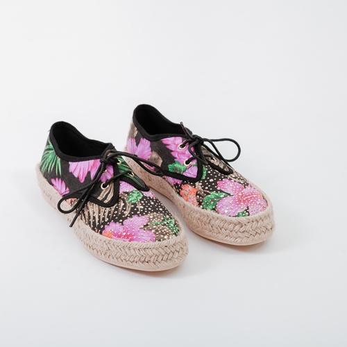 zapatillas flores mustang