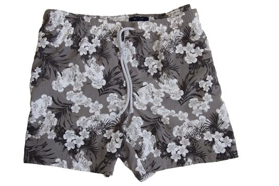 bañadores flores grises Gant