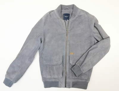bomber gris pepe jeans