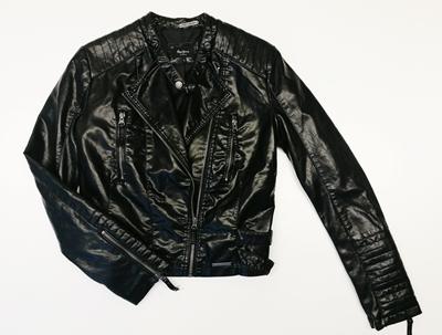 biker negra pepe jeans