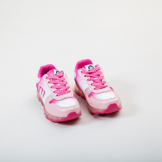 zapatillas deporte rosa