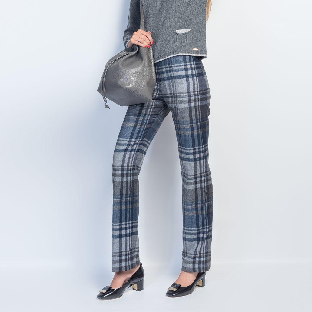 pantalón cuadros gris