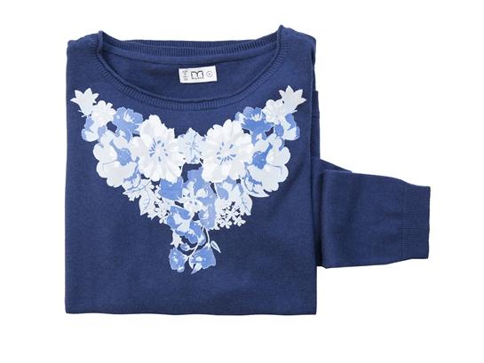 jersey flores azul
