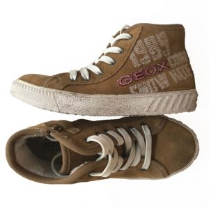 zapatillas marrones geox