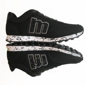 zapatillas negras mustang