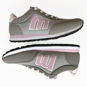 zapatillas mustang rosa