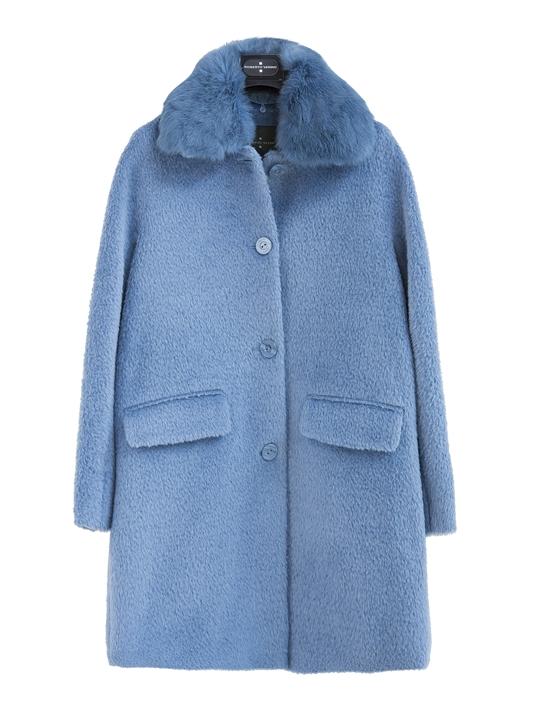 abrigo azul Roberto Verino