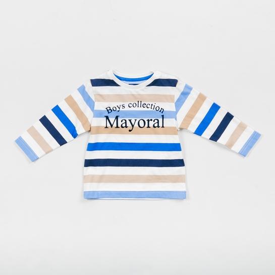 camiseta bebé de rayas