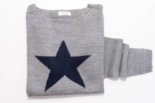 jersey estrella gris