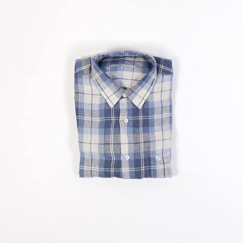 camisa cuadros adolfo domínguez
