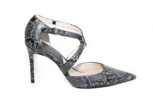 zapatos piel de serpiente