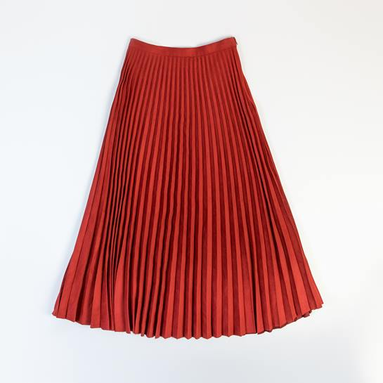 falda plisada mango