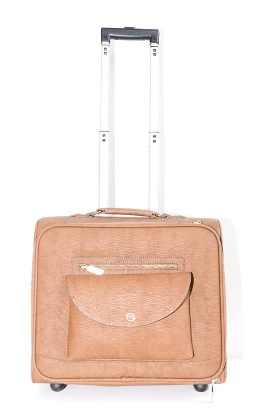 maleta camel ruedas