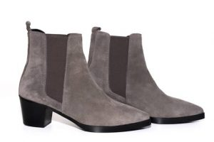 botines grises