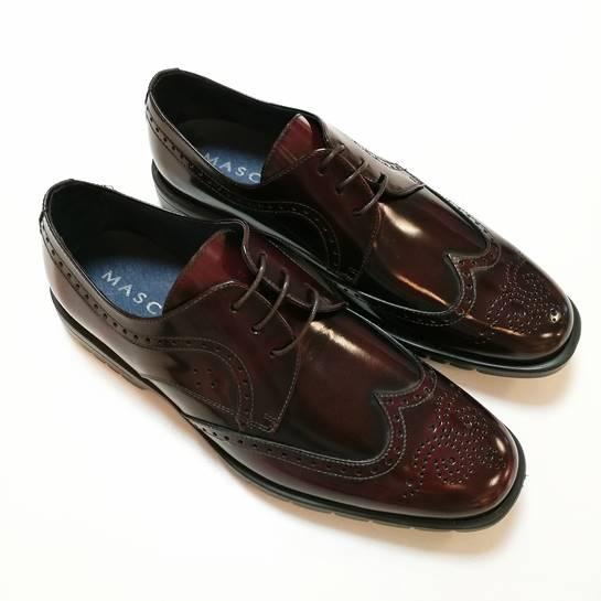 zapatos mascaro burdeos