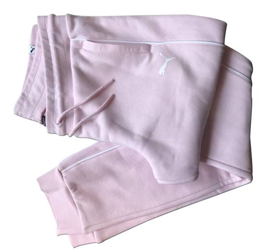 pantalón chandal rosa puma