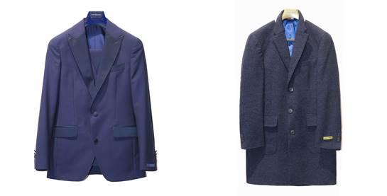 chaquetas azul hombre