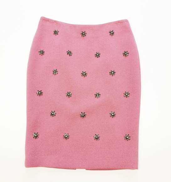 falda rosa Adolfo Domínguez