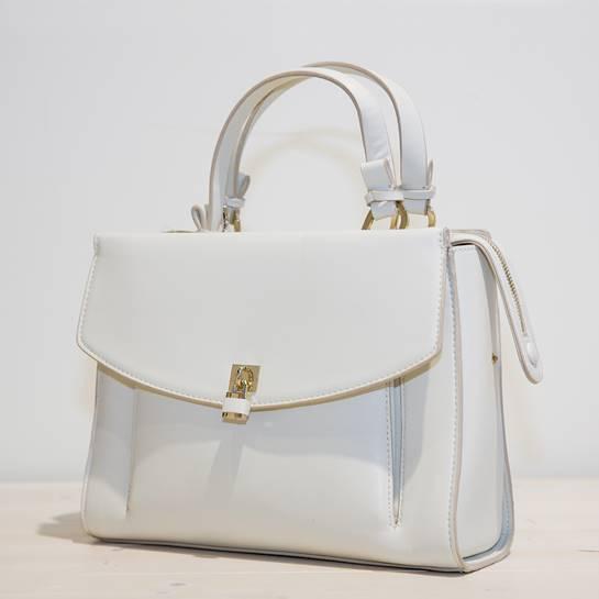 bolso blanco Tempe