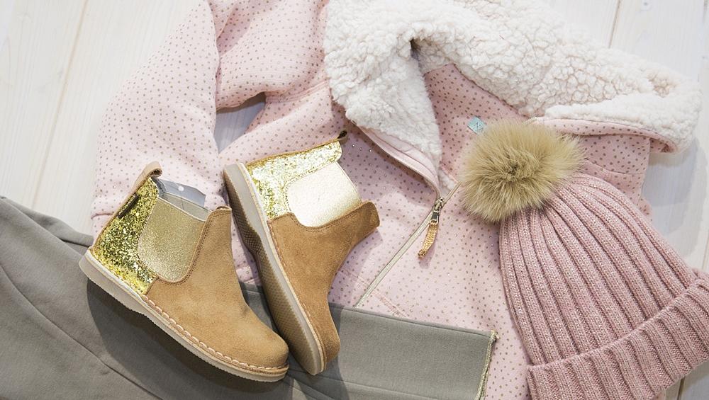 bodegón moda niños rosa