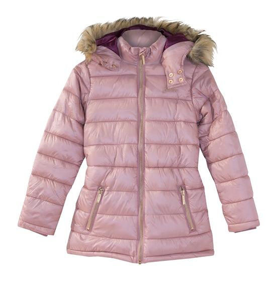 abrigo rosa guess