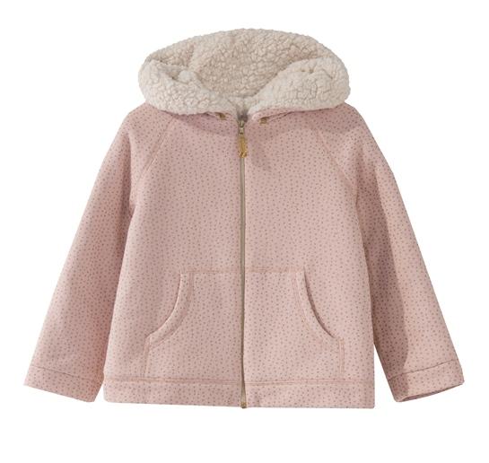 abrigo rosa nanos