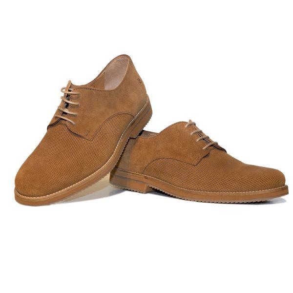 Calzado derby marrón KRACK