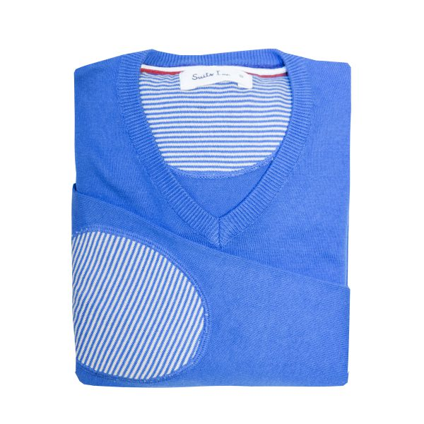 Jersey azul hombre SUITS INC 1