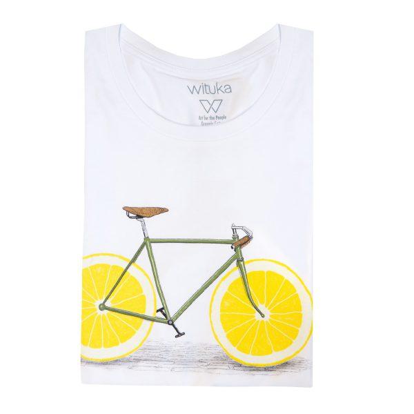 Camiseta bicicleta estampada WITUKA