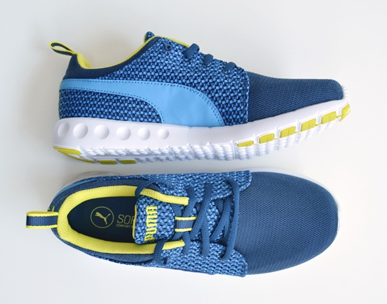 zapatillas puma azules