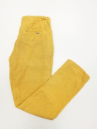 pantalón oficina amarillo