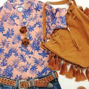 look camisa flores