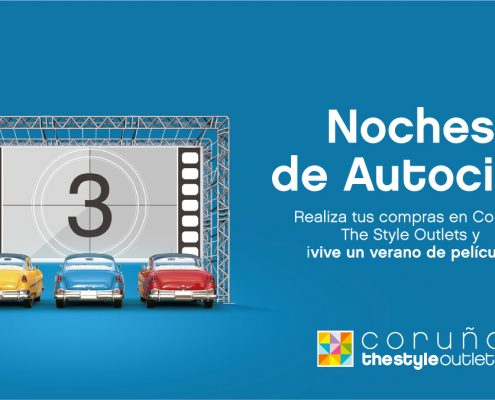 autocine coruña the style outlets