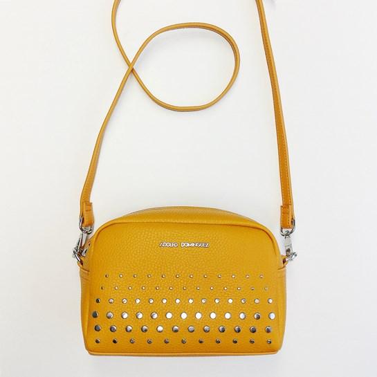 bolso amarillo adolfo domínguez