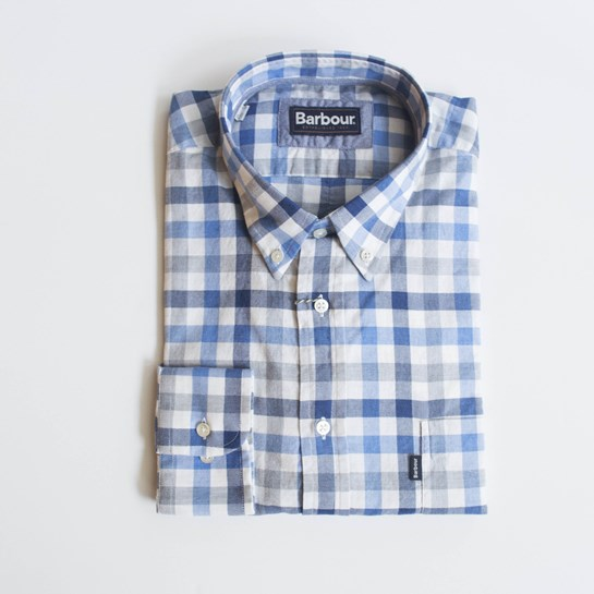 camisa cuadros barbour