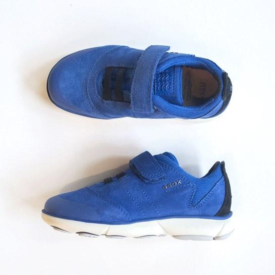 zapatillas geox azules