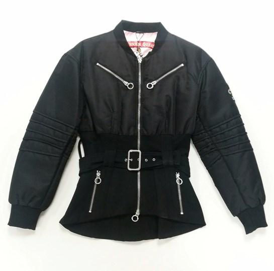 chaqueta negra cremallera highly preppy