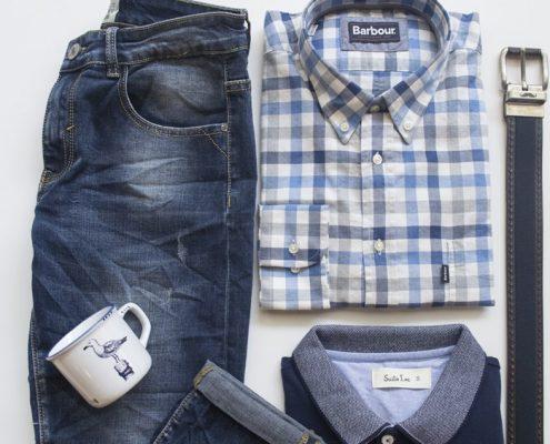 bodegón moda hombre