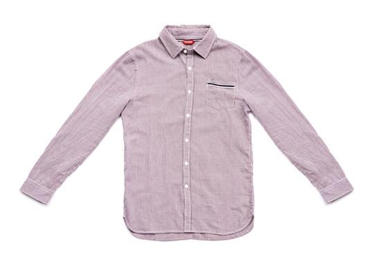 camisa rosa guess